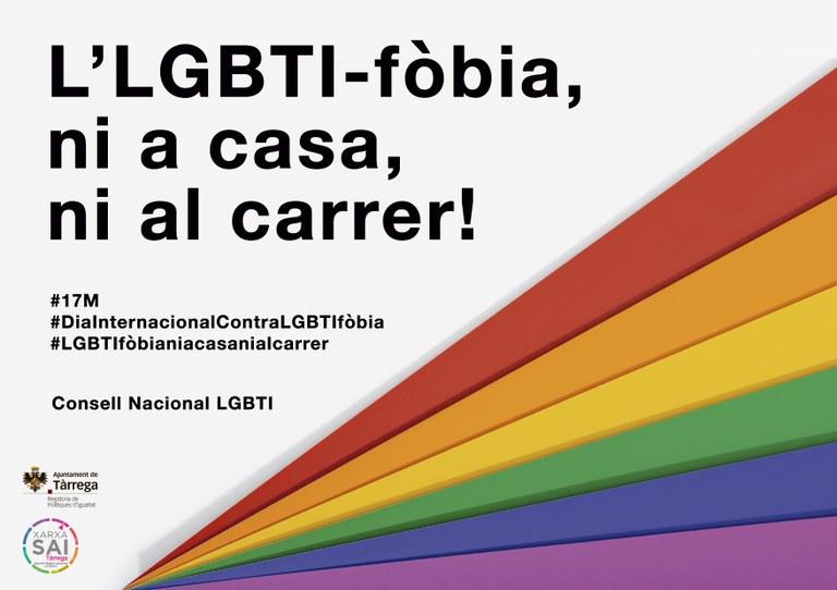 L'Ajuntament de Tàrrega ofereix un Servei d'Atenció Integral per a garantir la igualtat de drets del col·lectiu LGTBI
