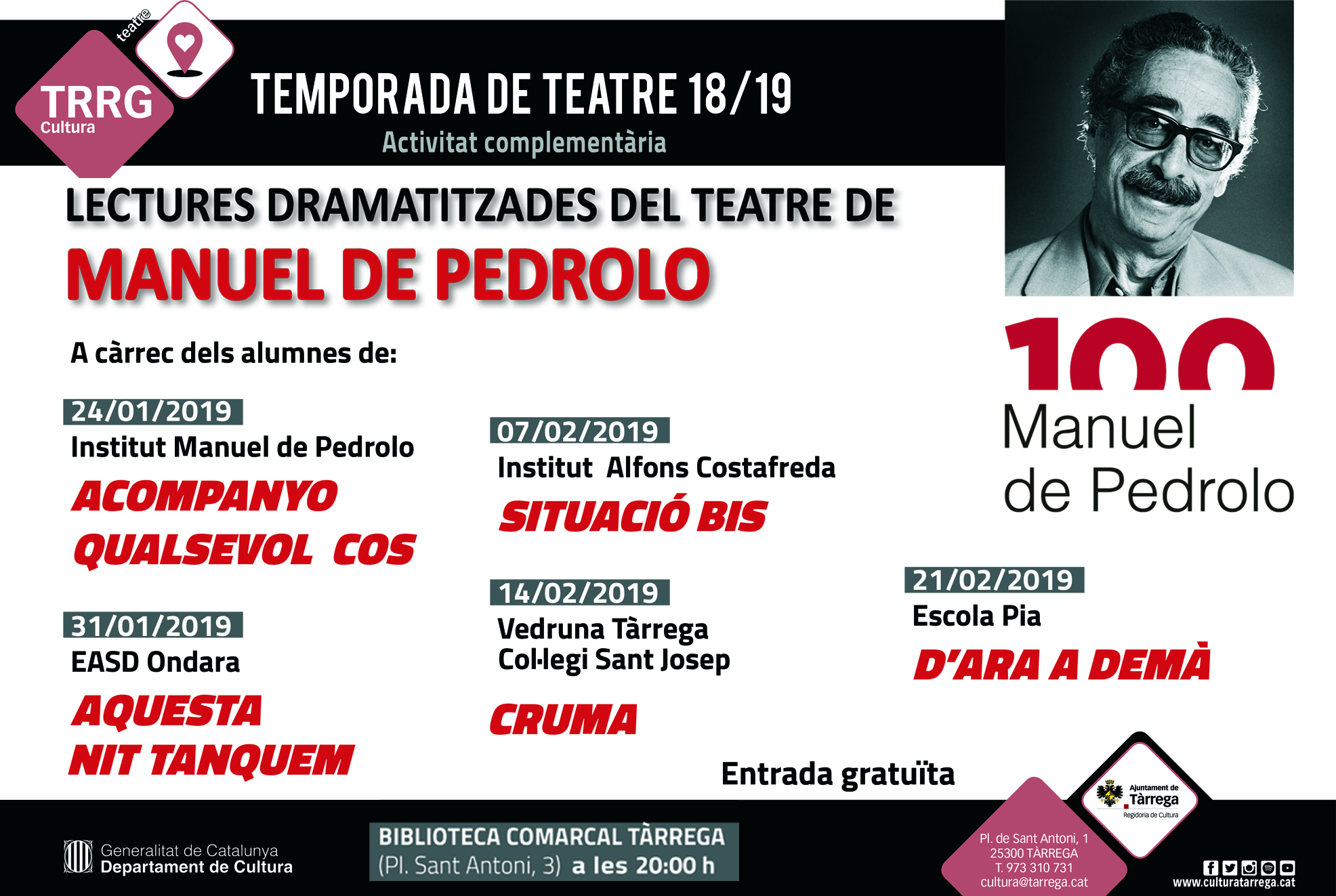 Lectures Pedrolo