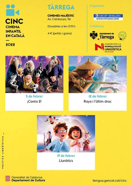"Cicle de Cinema Infantil en Català: ""ANGRY BIRDS 2 · LA PEL·LÍCULA"""