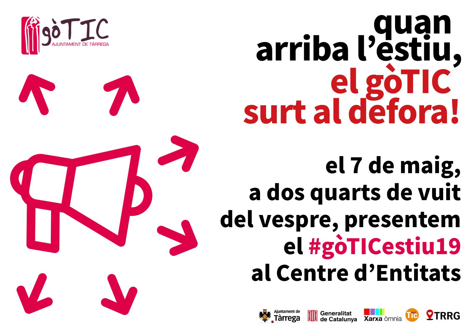 #gòTICestiu19