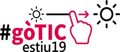 logo #gòTICestiu19 petit