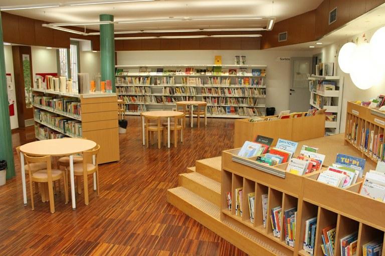 Biblioteca Central Comarcal · Sala infantil