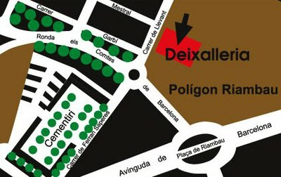 Plànol Deixalleria