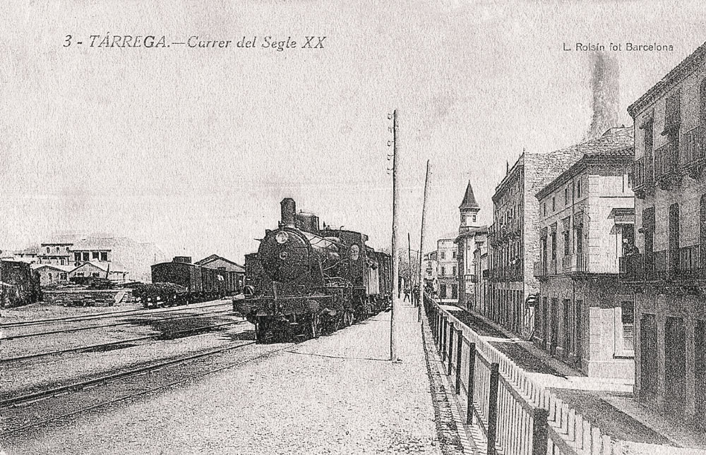 El ferrocarril a Tàrrega