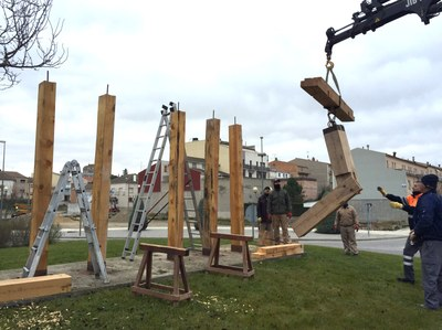 Escultura Pl. Andorra 3