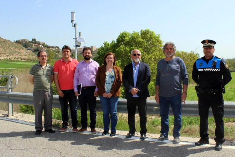 L'Ajuntament de Tàrrega instal·la sensors a la capçalera del riu Ondara per detectar augments del cabal i alertar amb temps del risc d'inundacions