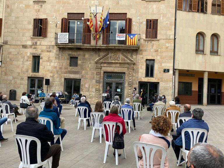 L'Ajuntament declararà el 25 de maig com a dia de la memòria històrica i democràtica de la ciutat de Tàrrega