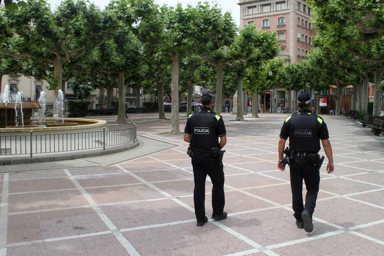 La Policia Local de Tàrrega intervé 14 targetes de persones amb discapacitat en tres mesos per un ús il·legítim