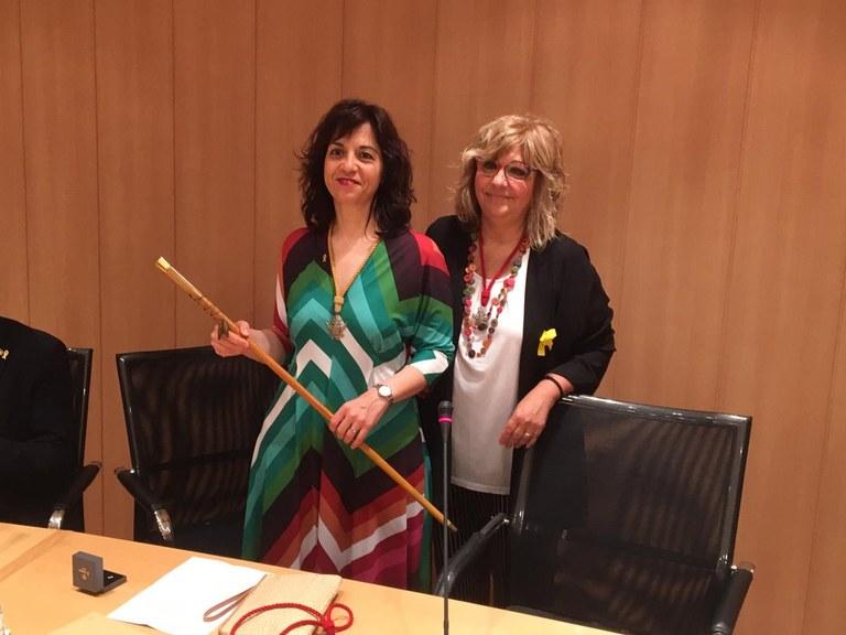 Maria Alba Pijuan Vallverdú (ERC-MES-AM), proclamada nova alcaldessa de Tàrrega