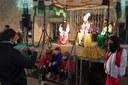 El Patge Kassam arriba a Tàrrega per recollir fins dilluns les cartes dels infants adreçades als Reis Mags