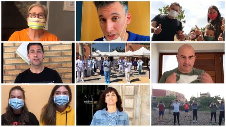 """""""Si surts, posa-te-la"""", nova campanya del CAP de Tàrrega per promoure l'ús de les mascaretes"""