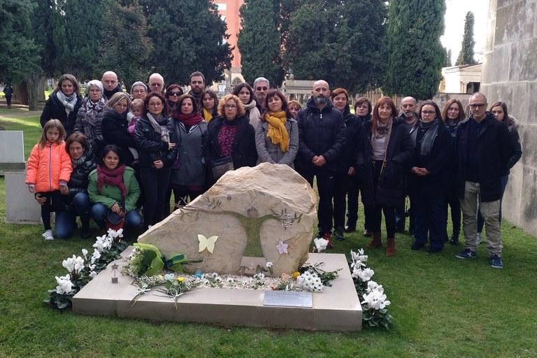 Tàrrega inaugura al Cementiri Municipal un espai que dona visibilitat al dol perinatal